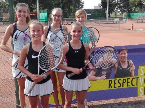 Agnetencollege schittert op SVS tennistornooi
