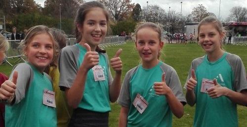 Vier eerstejaars doen mee aan veldloop in Sint-Niklaas