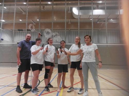 Badminton met Rob