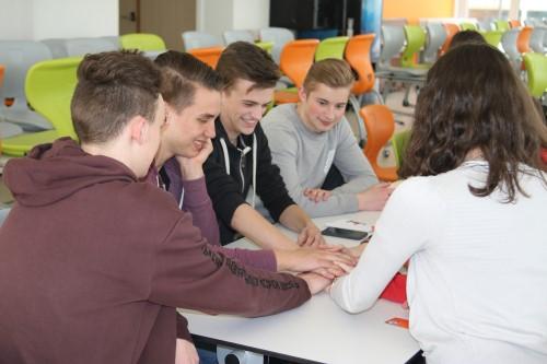 Waalse leerlingen op bezoek