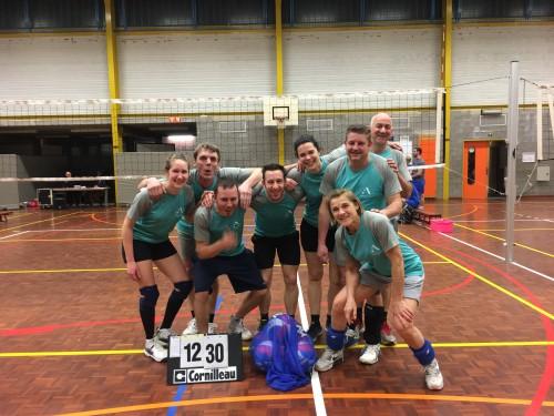 Volleybalcompetitie voor leerkrachten