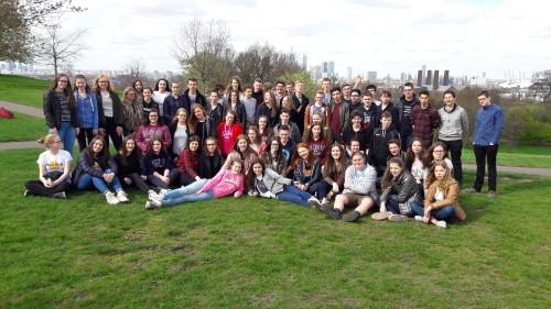 Vierdejaars terug van drie dagen Londen