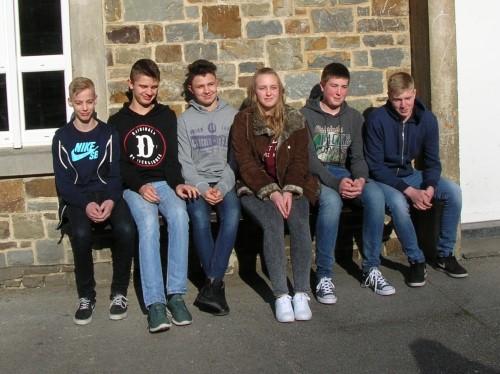 Derdejaars op taaluitwisseling in La Roche