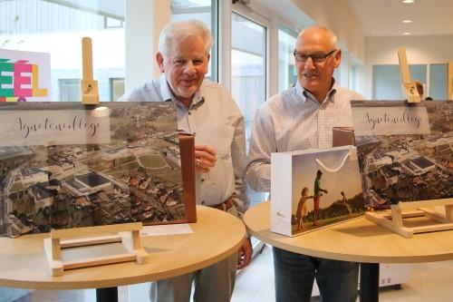 Rik Schepers en Georges Meurs opgehemeld met luchtfoto