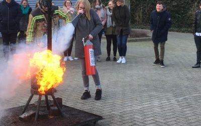 Klas 5.2 op bezoek bij de brandweer