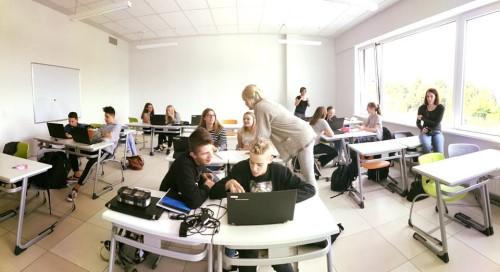 Voorbereiding in de klas