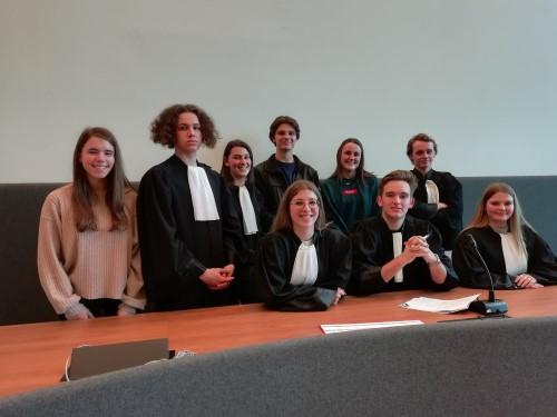 Uitstap naar de correctionele rechtbank van Hasselt