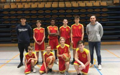 Zilveren medaille voor onze jonge basketters