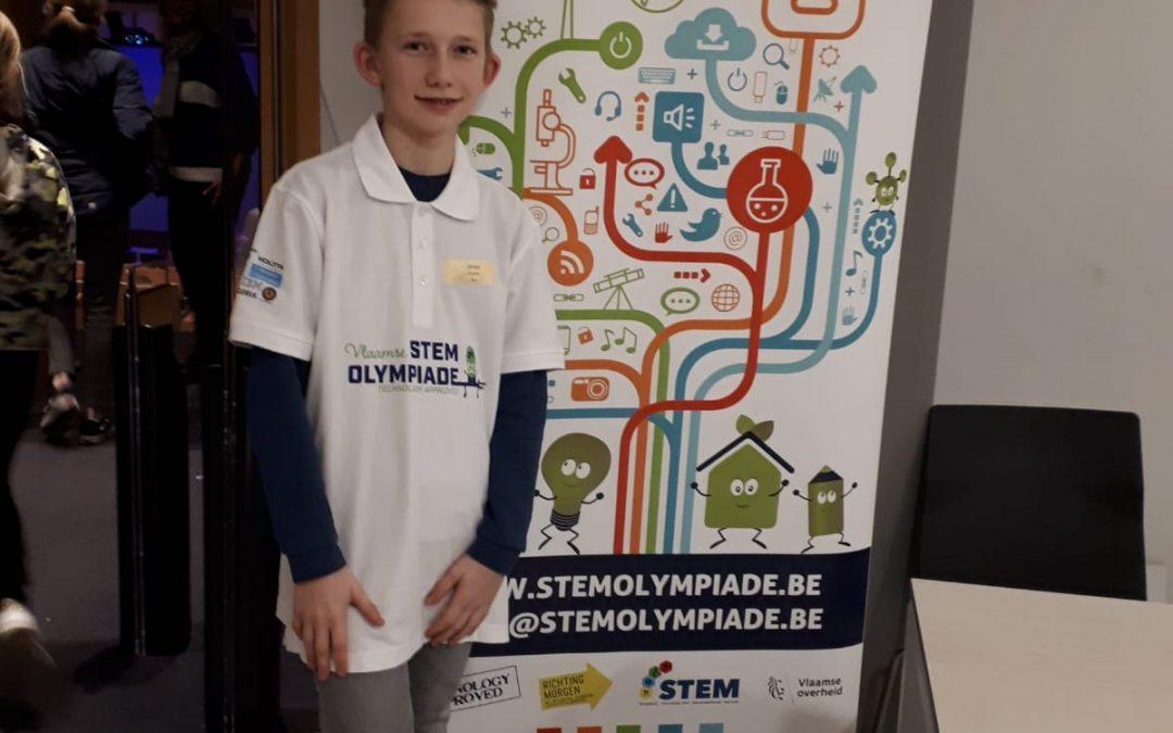 Vlaamse STEM Olympiade finale