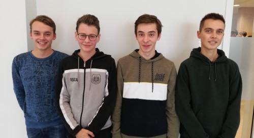 Vier toppers naar halve finale Vlaamse Chemie-Olympiade