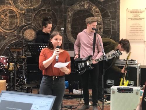 Het Agnetencollege maakt muziek deze week!